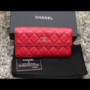Chanel Classic Full size Wallet - Caviar 💋💋💋